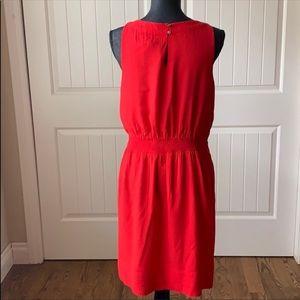 White House Black Market Dresses - White House black market red sleeveless dress